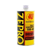 Моторное масло IDEMITSU Zepro Diesel 5W40 CF Fully Synthetic, 1л